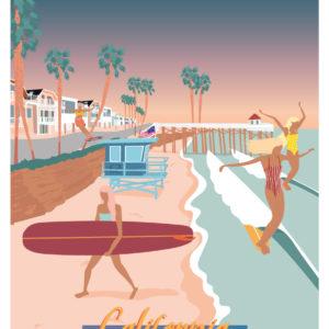 Affiche surf